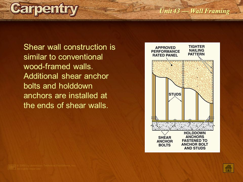 Nailing Wood Concrete