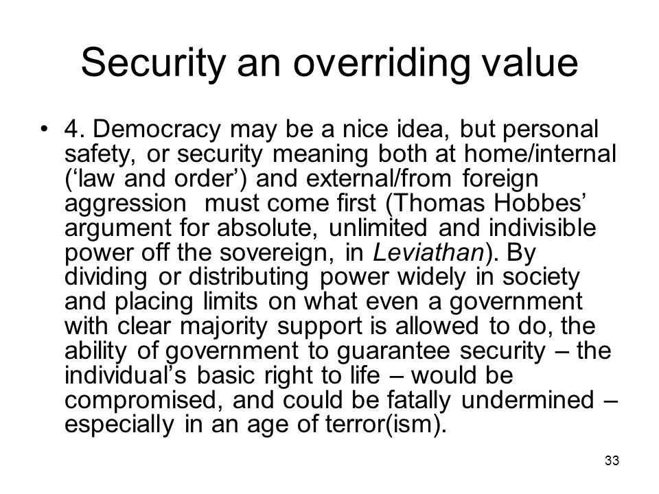 Personal Security Meaning