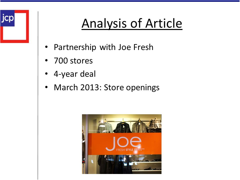 Joe Fresh Locations Laval