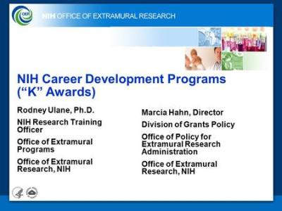 NIH Office of Extramural Research - ppt download