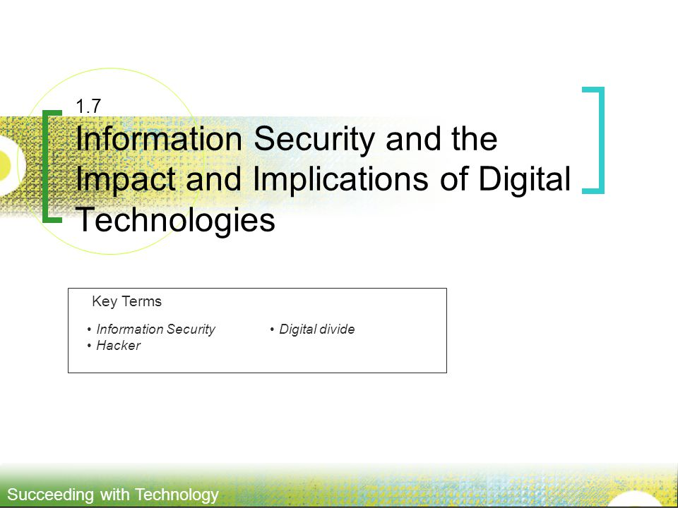 Impact Technology Security