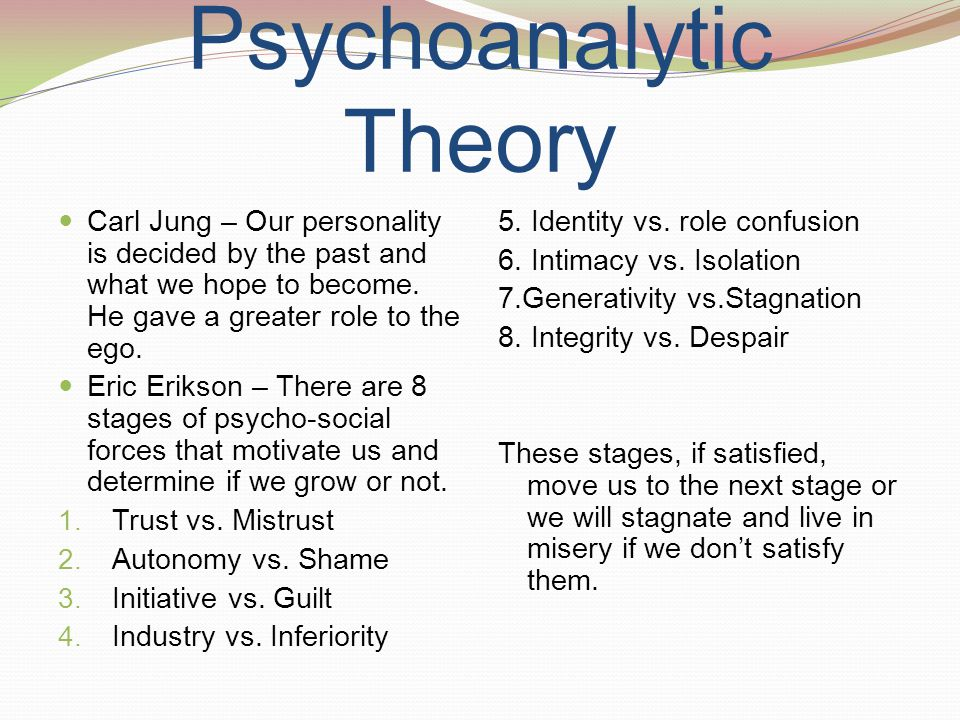 Ego 8 Integrity Despair Vs