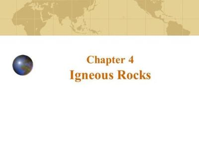 Earth Materials: Silicate Minerals & Igneous Rocks. - ppt ...