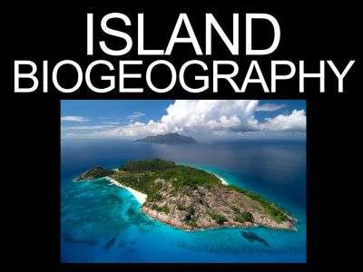 ISLAND BIOGEOGRAPHY - ppt download