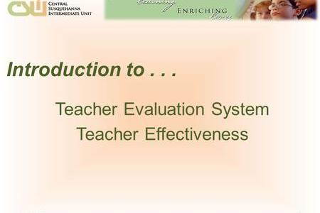 NYC DOE     Office of Teacher Effectiveness A   ppt download Introduction to    Teacher Evaluation System Teacher Effectiveness  12 6 2015 1