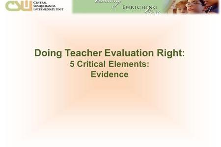NYC DOE     Office of Teacher Effectiveness A   ppt download Doing Teacher Evaluation Right  5 Critical Elements  Evidence