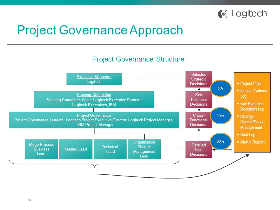 project governance structure template