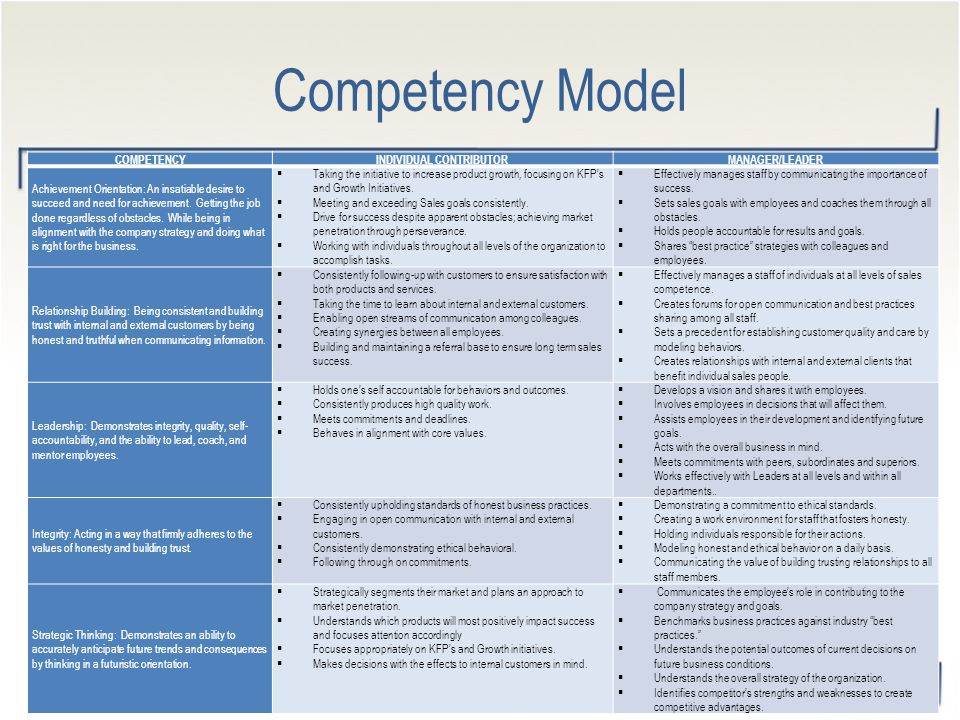 What Are Lominger Competencies