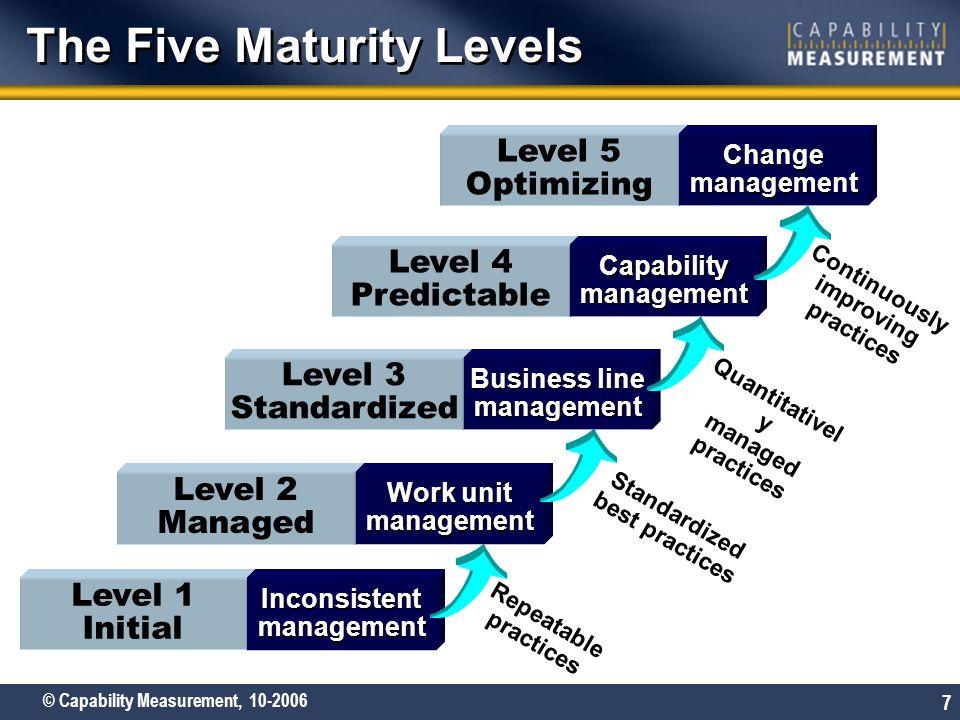 Itil Maturity Rating