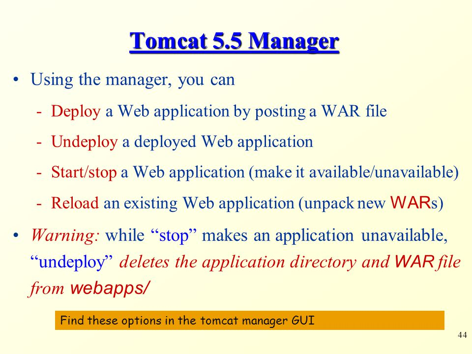 Security Tomcat 85 Manager