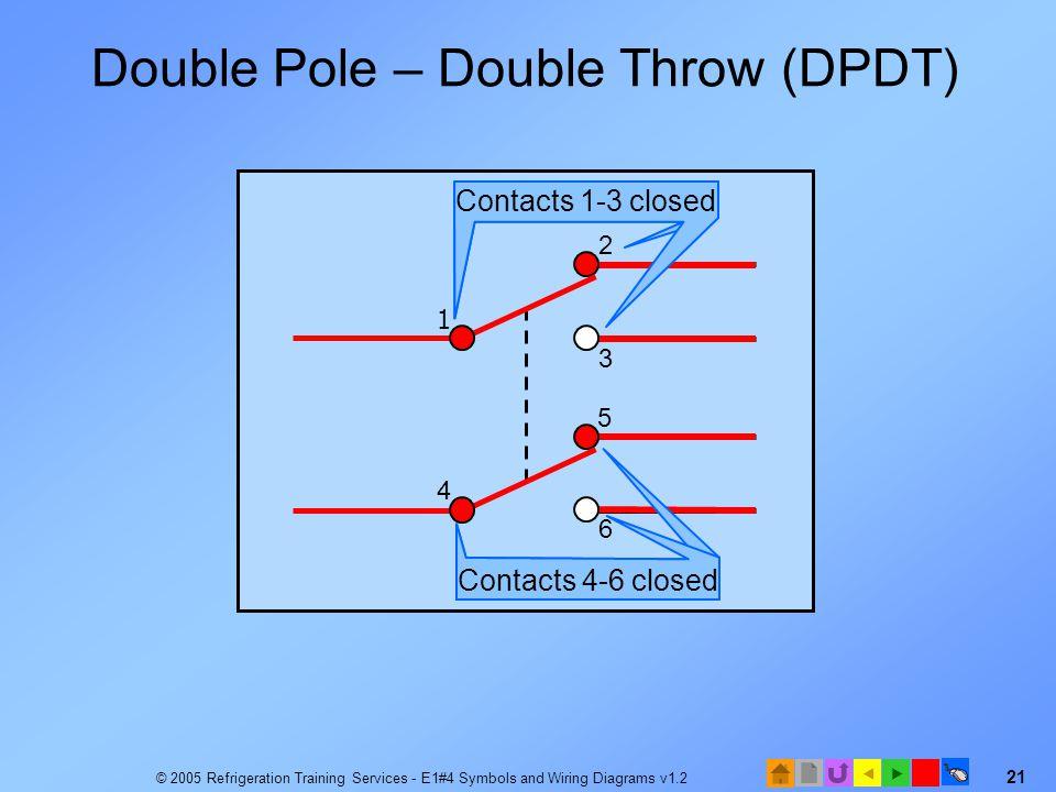 Single Pole Double Throw Switch Diagram
