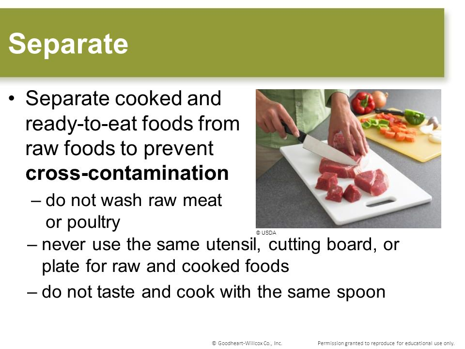 Causes Contamination Food