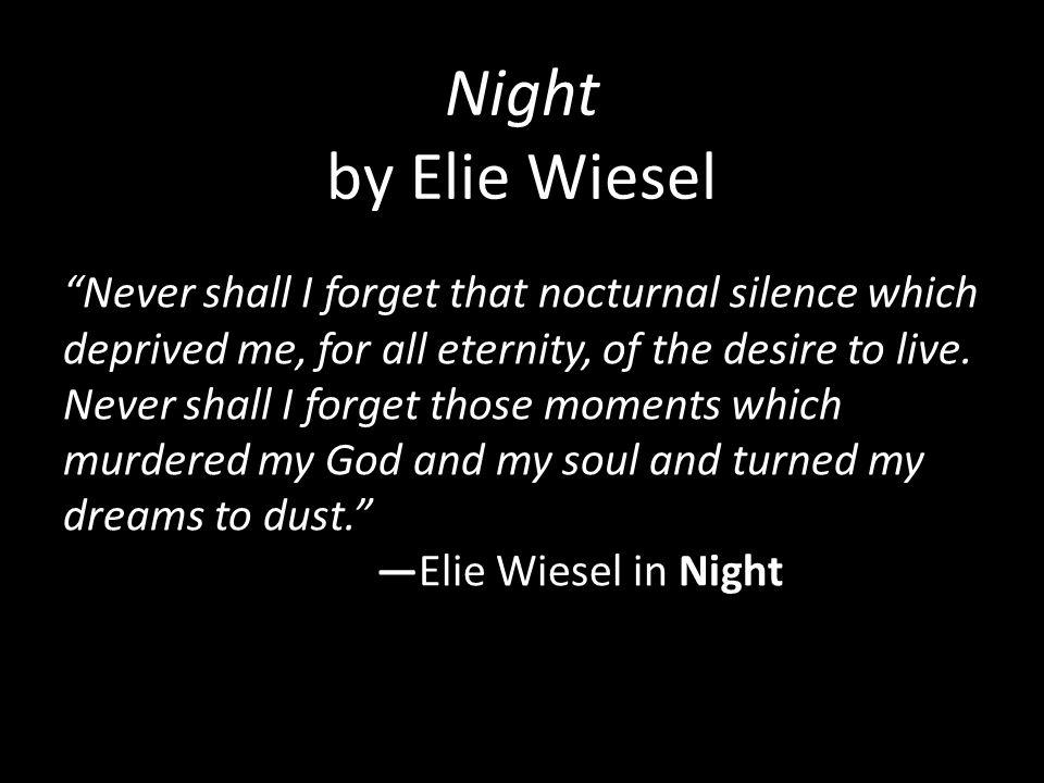 night poem elie wiesel