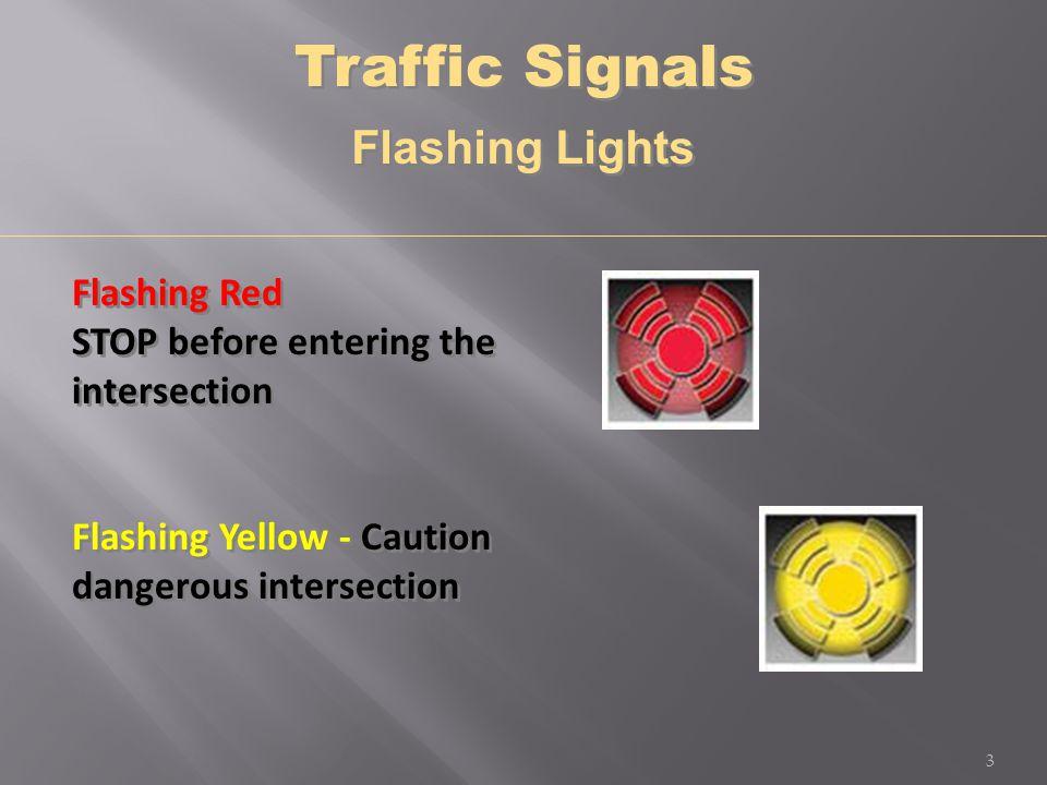Yellow Traffic Stop Lights