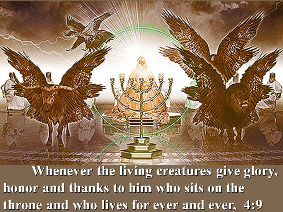 Living Ezekiel Four Image Creatures