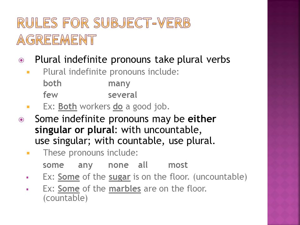 Neither Subject Verb Agreement None