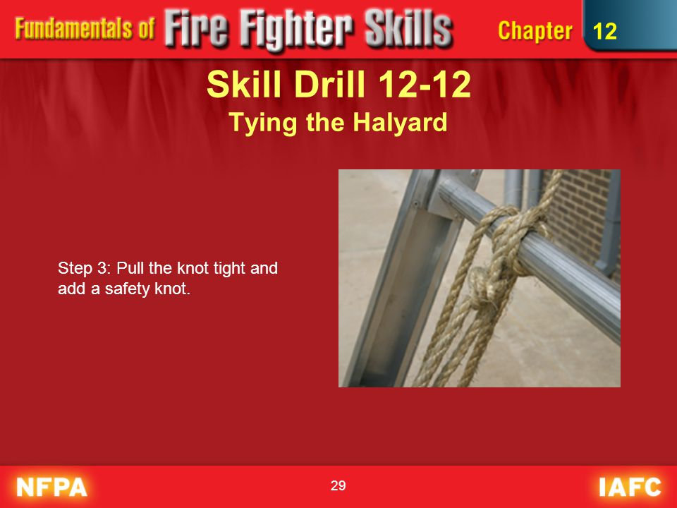 Ladders Firefighting Ppt