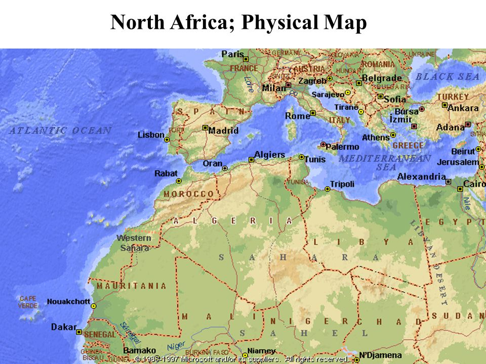 ancient greece physical map ancient greece map » ..:: Edi Maps ...