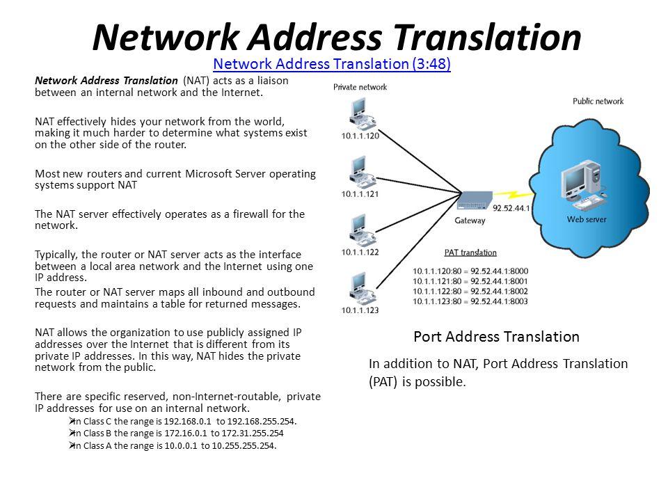 Address Port Translation