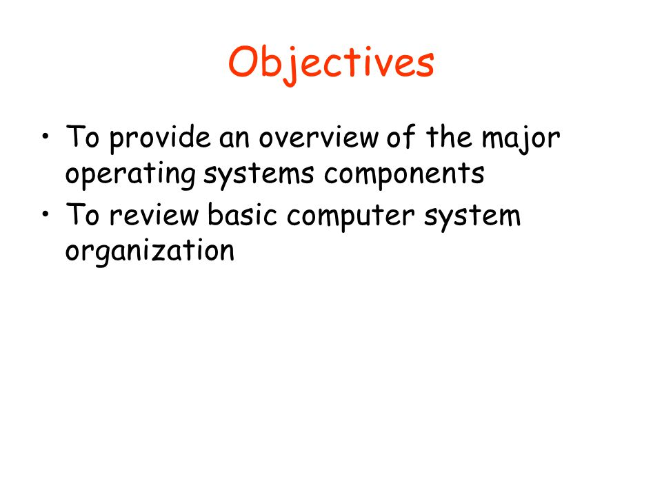 What Are Hardware Major Computer Four Components