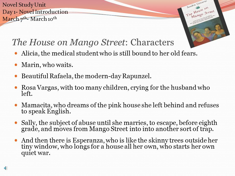 Laughter House Mango Street