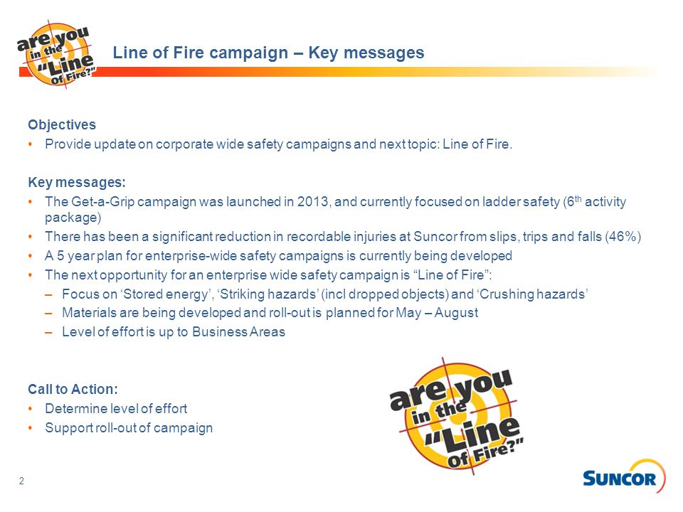 Line Fire Safety Awareness