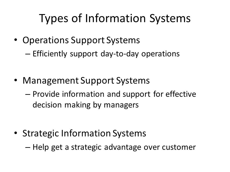 Information Security Operations