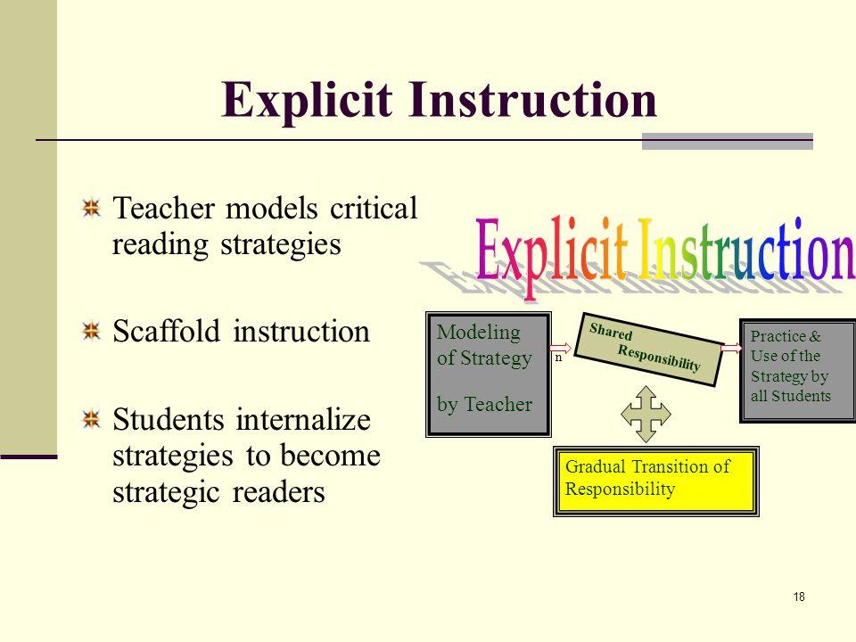 Fix Strategies Reading Comprehension