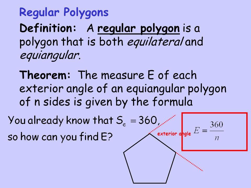 Formula Angle Polygons 3d
