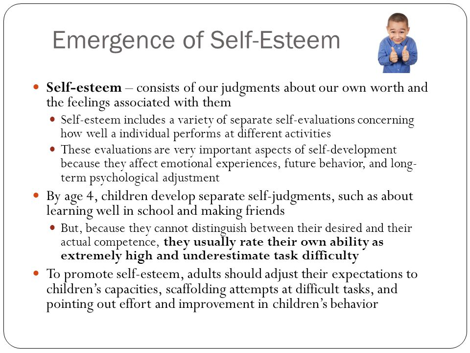 Self Esteem Improvement Activities