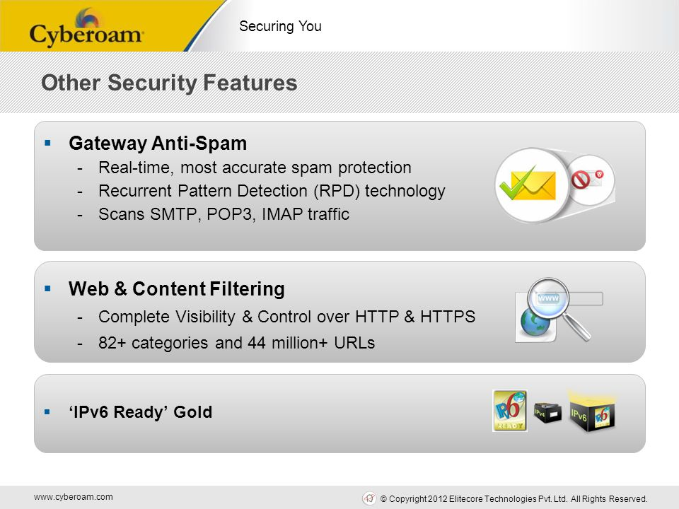 Web Security Features