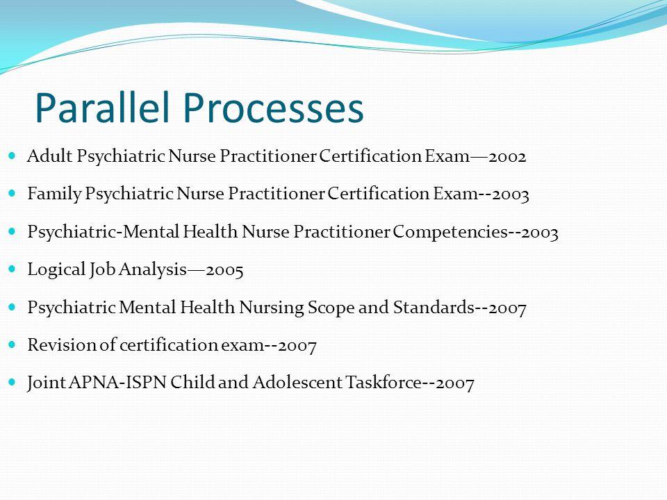 Mental Health Nursing Certification