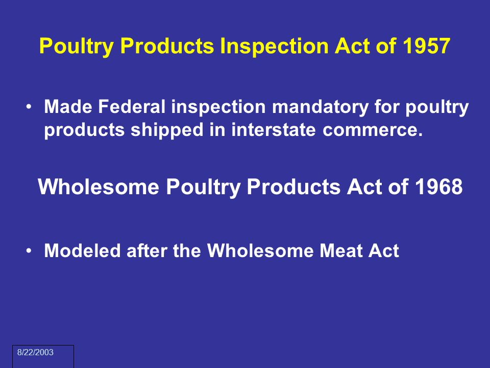 meat inspection act 1906