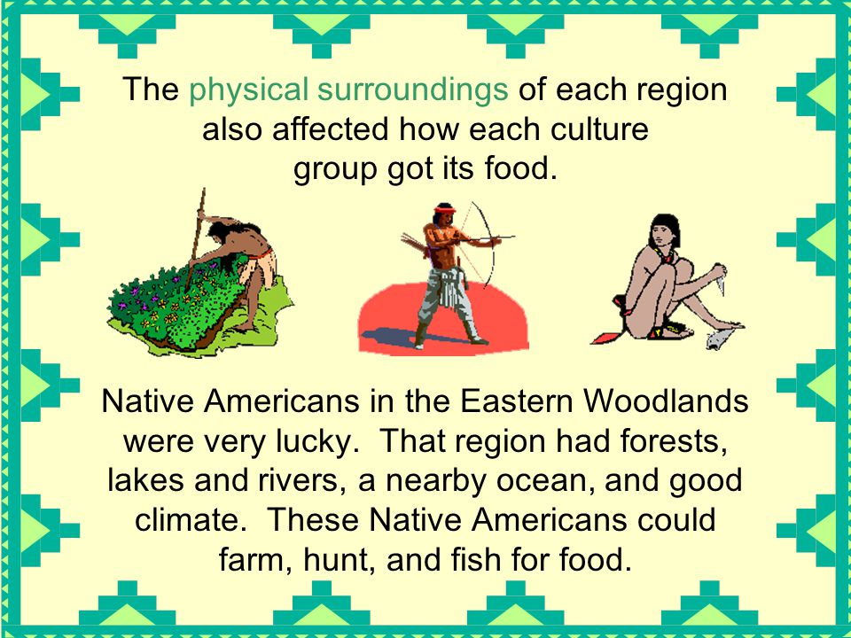 Native American What They Eat