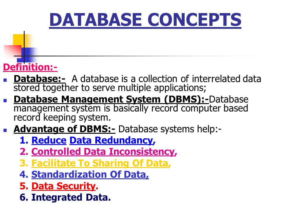 Database Security Definition