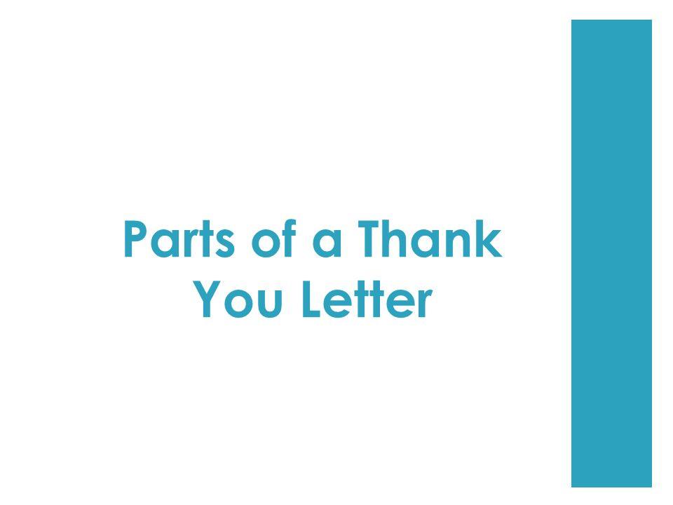 Parts Letter Salutation