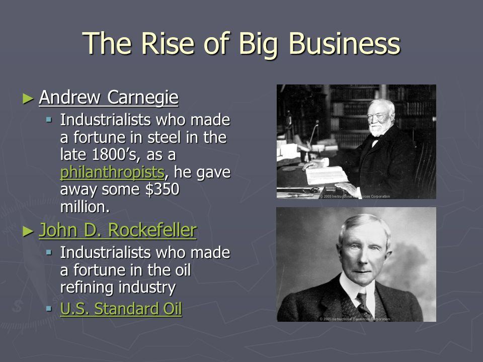 Andrew Carnegie Vertical Integration