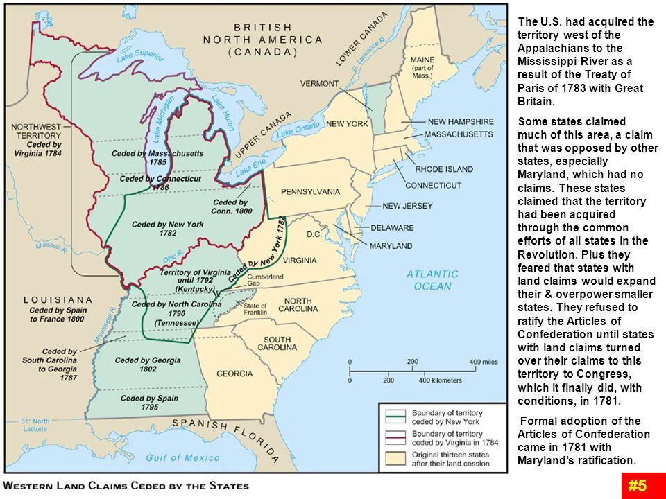 Treaty Of Paris Map 1783.Treaty Paris 1783 Map