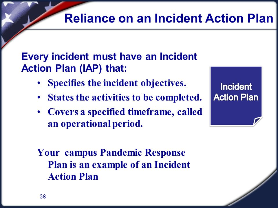 Incident Action Plan Form