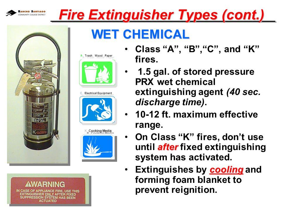 Fire Extinguisher Training Hand Out