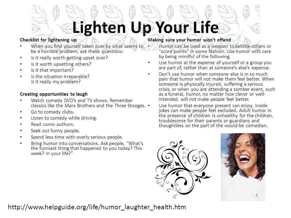 Mental Health Benefits Laughter