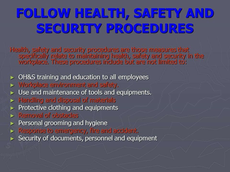 Information Security Posture