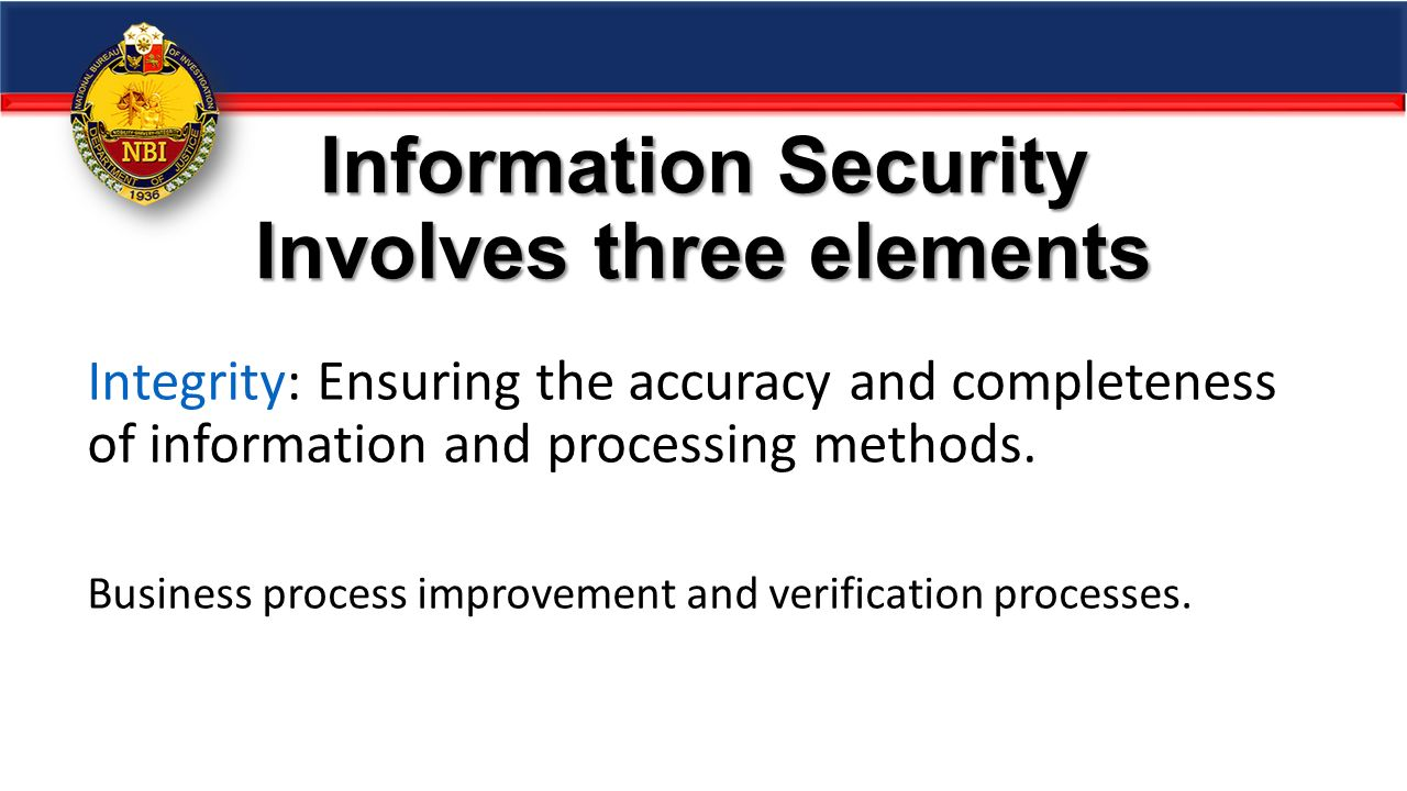 Elements Security Information