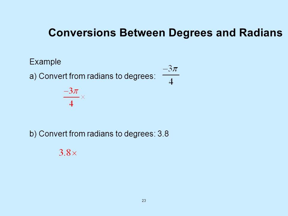 Arc Length Formula Degrees