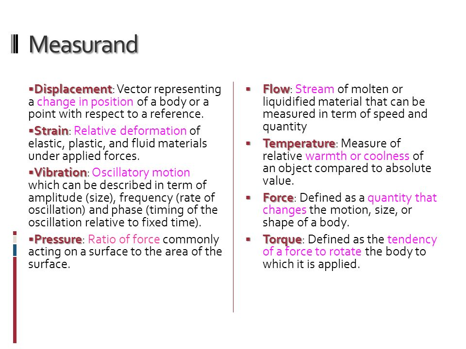 Representing Displacement Vector