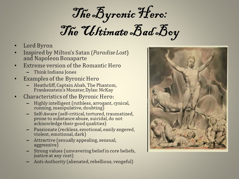 byronic hero examples