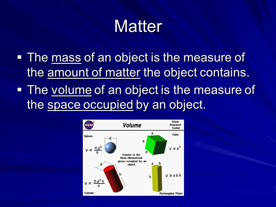 Intensive Physical Property Examples