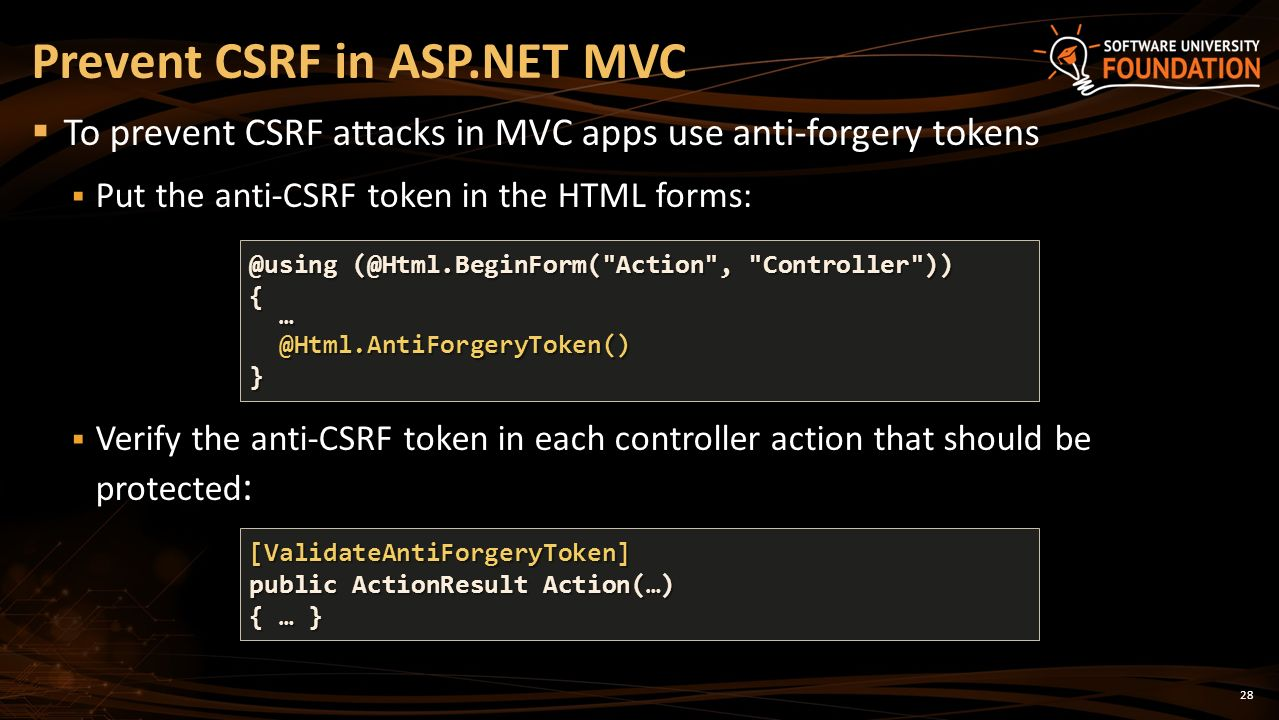 Xss Web Csrf Security