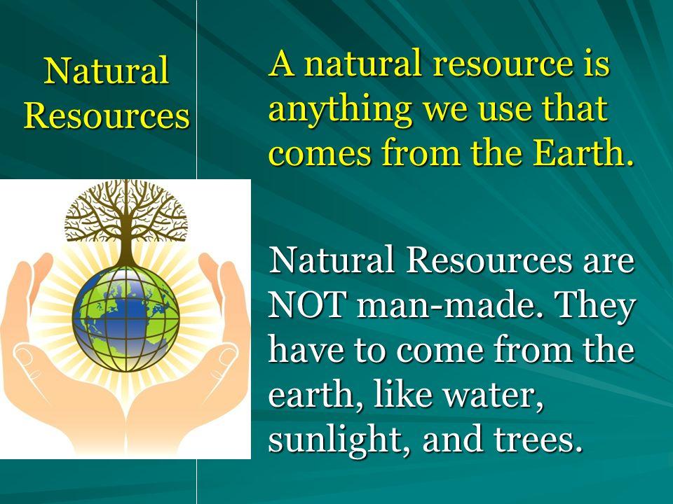 List Renewable Resources