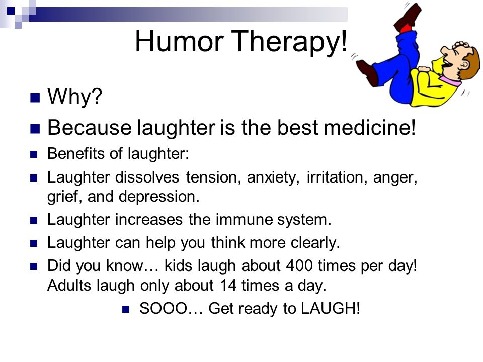 How Does Laughter Help Stress